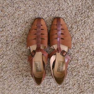 Vintage Esprit Genuine Leather Flats